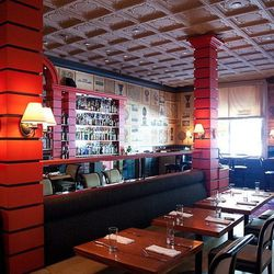 Fly Trap, the 106-year-old San Francisco dining institution, became Zaré at Fly Trap in late 2008 when beloved Bay Area chef Hoss Zaré purchased and revamped the SoMa space. In homage to the original décor, Zaré  kept the whimsical botanical prints outlin