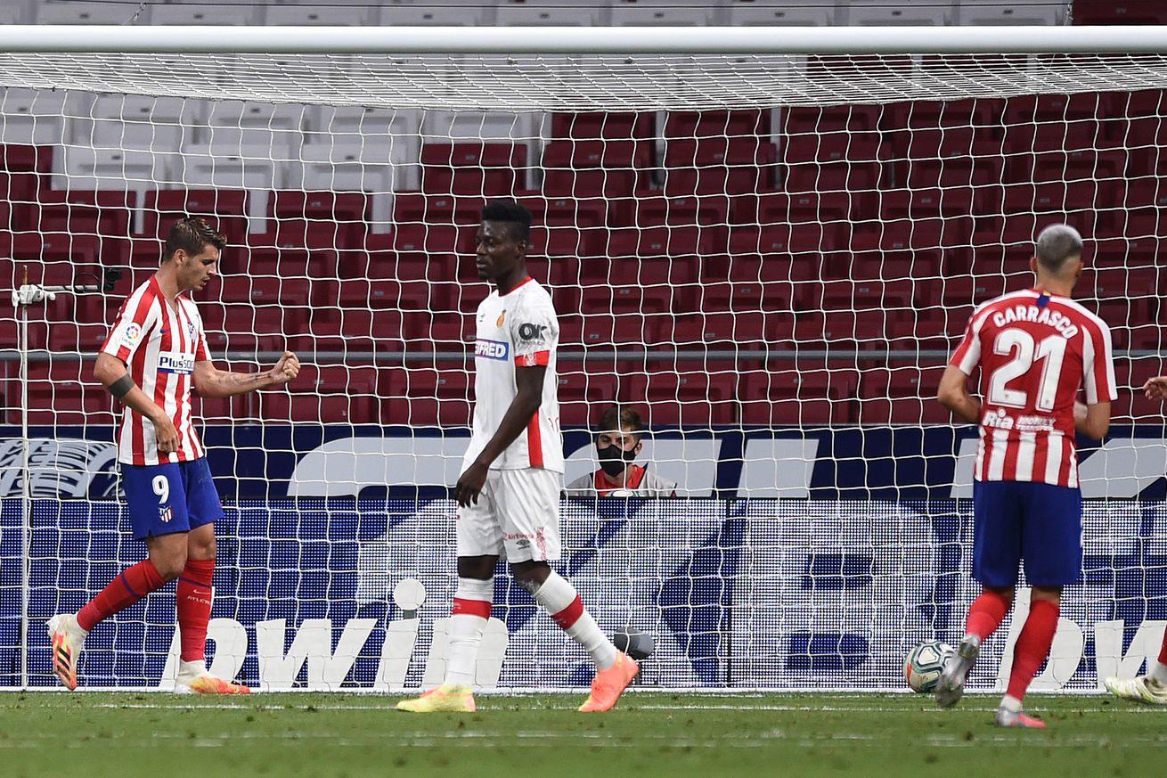 Atlético Madrid 3-0 RCD Mallorca: Player Ratings