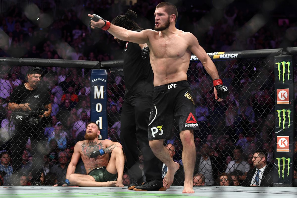 White Conor Mcgregor Vs Dustin Poirier Not For Ufc Title Khabib S Going To Fight Mmamania Com