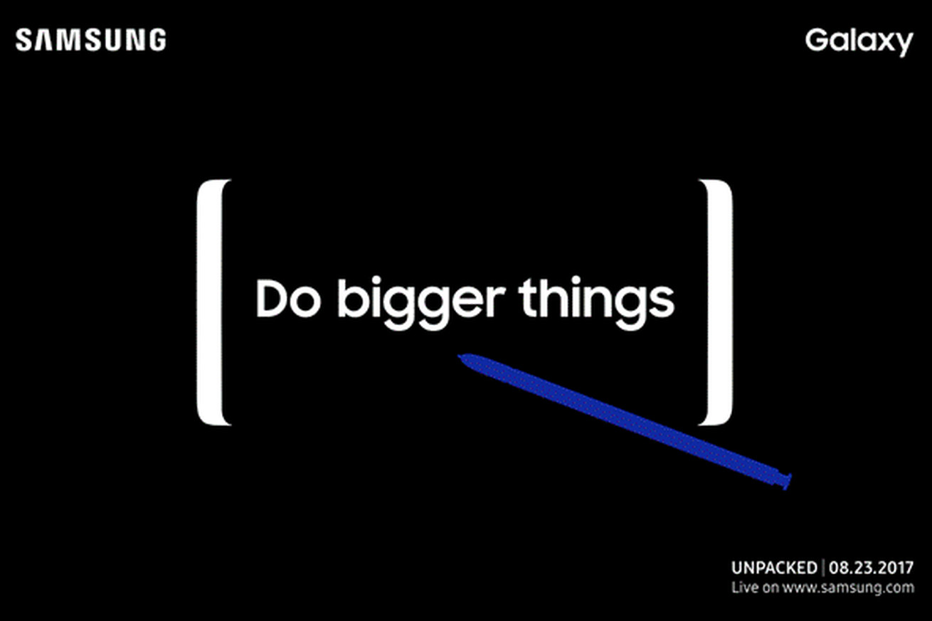samsung note 8 event start time and where to stream