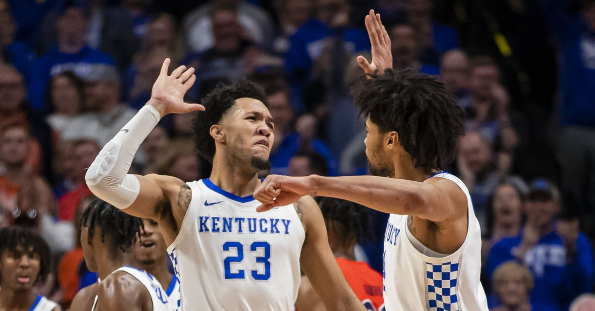 Kentucky Wildcats Morning Quickies : Movin  On Up The Rankings Edition