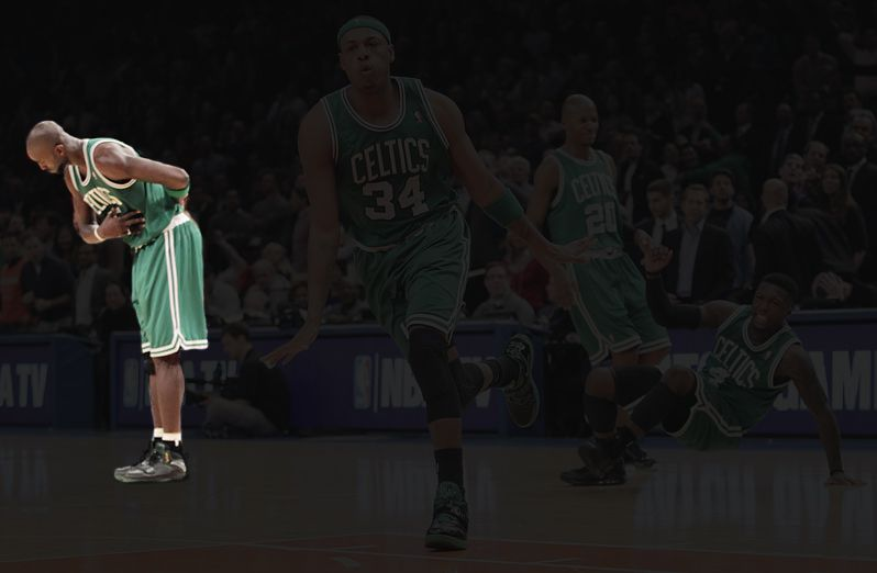 The same photo with only Kevin Garnett highlighted