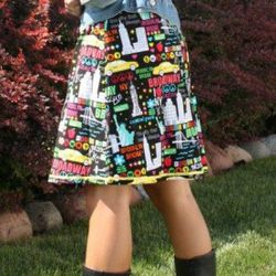 """""""I Love New York"""" <a href=""""http://www.etsy.com/listing/79935485/my-i-love-ny911-tributedrawstring-a-line"""" rel=""""nofollow"""">skirt</a>, $20"""