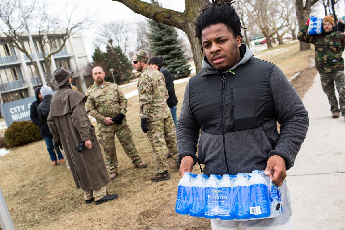 Flint residents had to wait months for the state to acknowledge their concerns. But they'd already made sure their employees had clean water to drink.