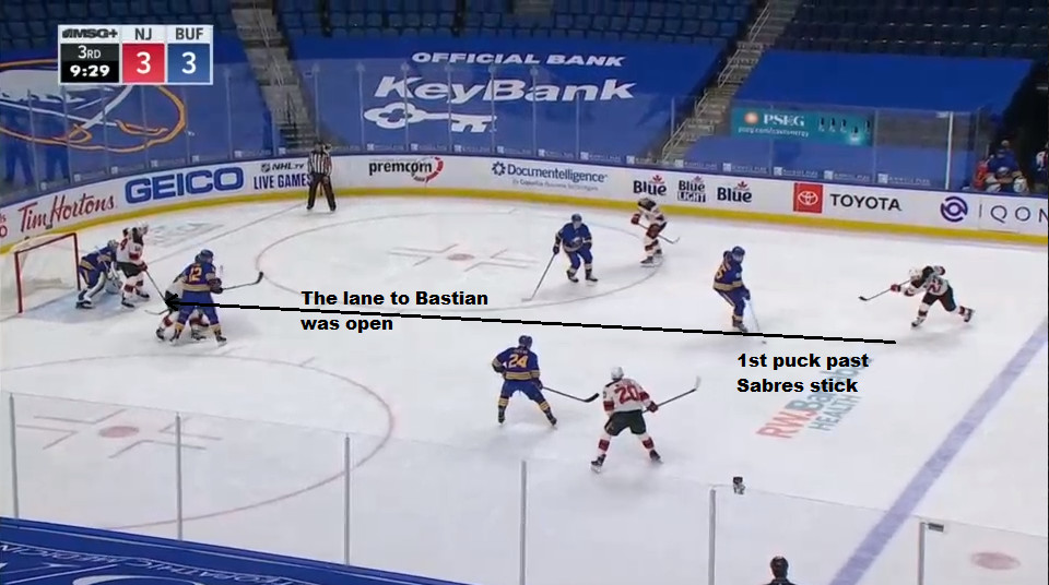 Part 2: A shooting lane emerged and Murray released a slapshot.