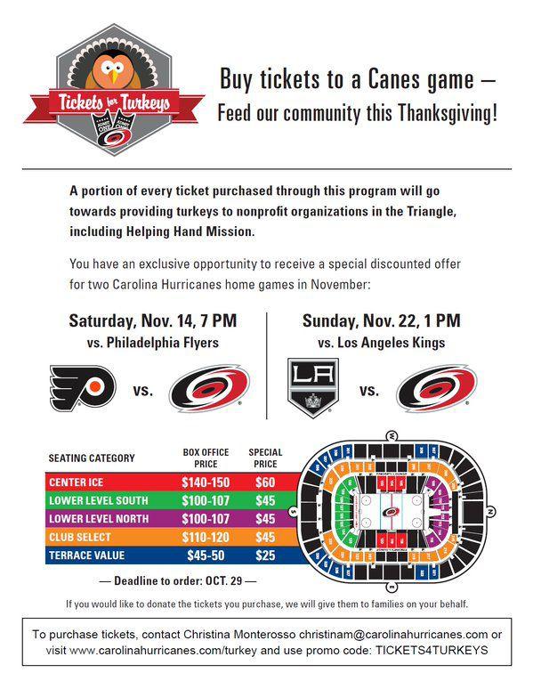 Tickets 4 Turkeys