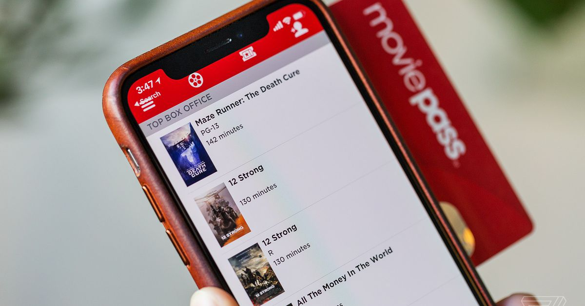 MoviePass Posts Huge Quarterly Loss, Shareholders Sue
