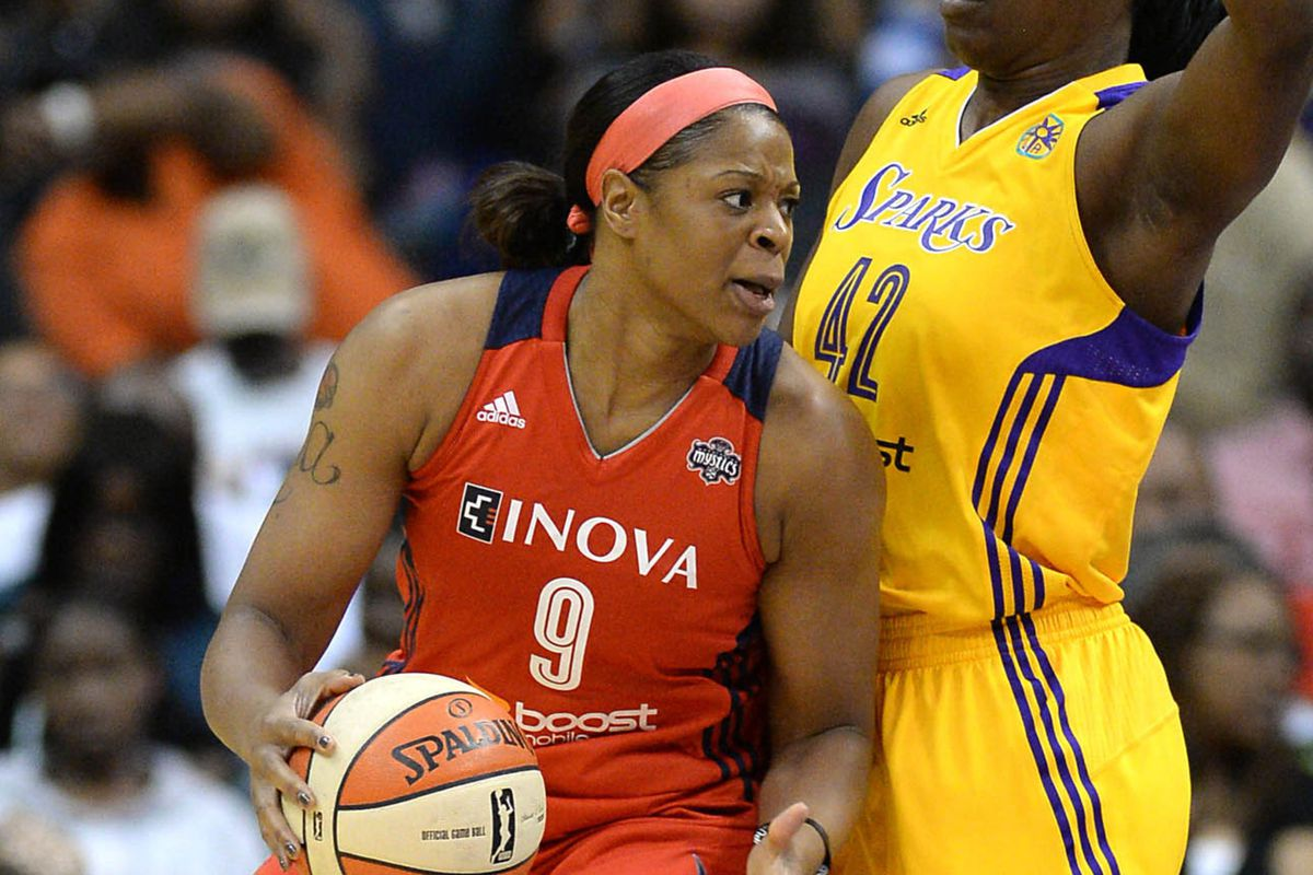 Kia Vaughn is averaging 5.9 points per game on the season and nine over the past three games.