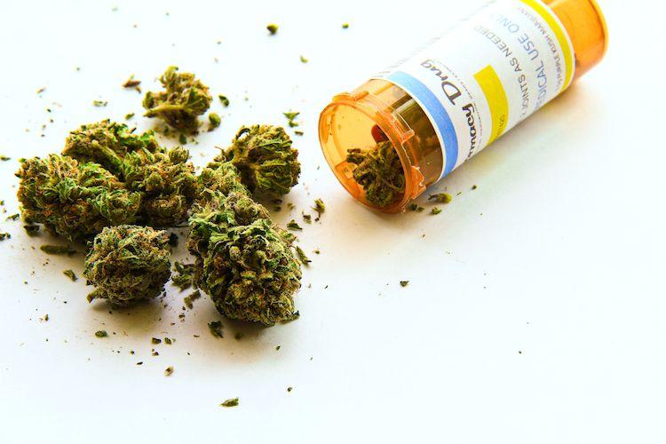 marijuana medicine bottle