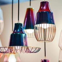 Ditch the horrible ceiling-fan lights for something cute.