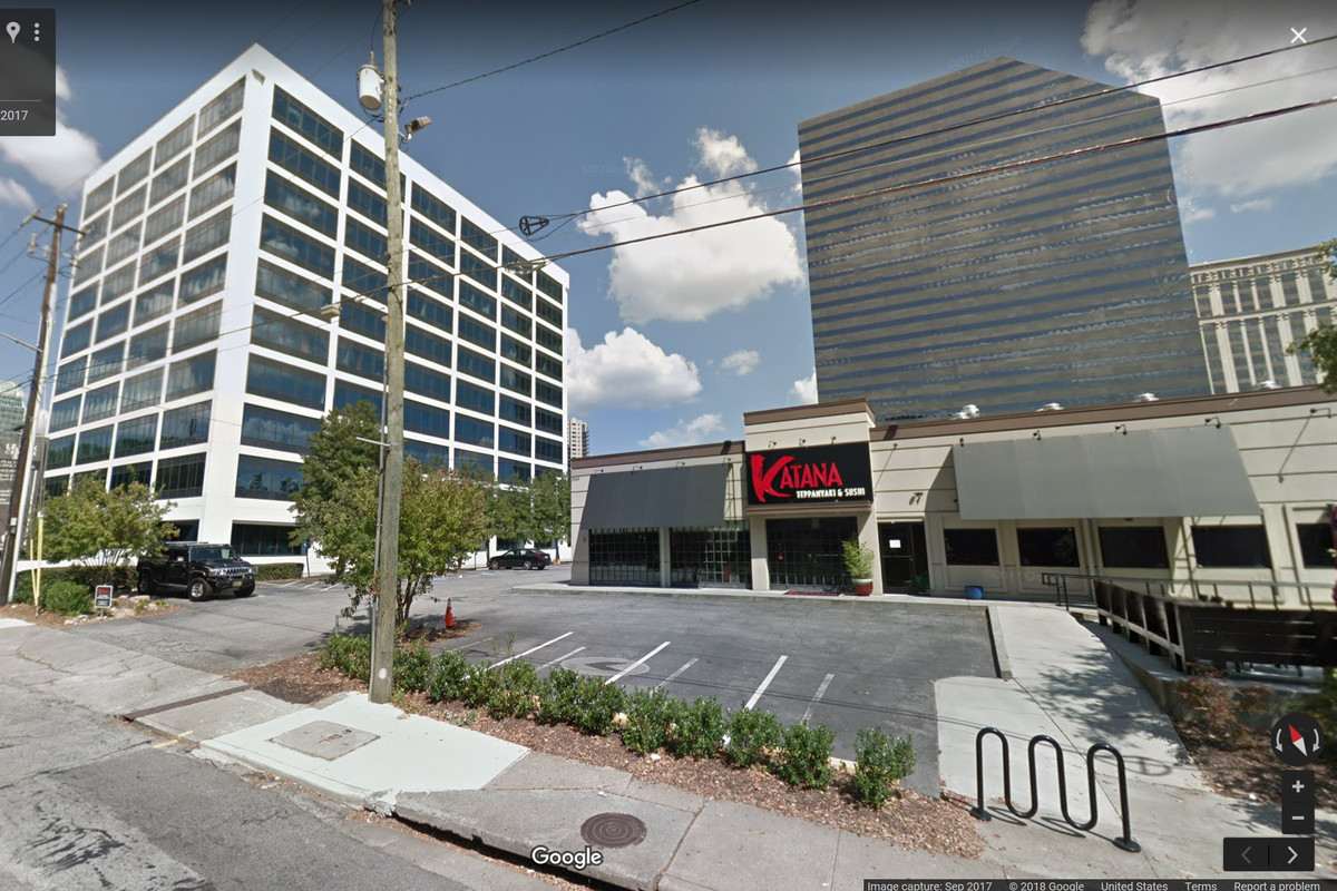 A screencap of Google Maps' showing the restaurant that could be transformed into part of the hotel development.