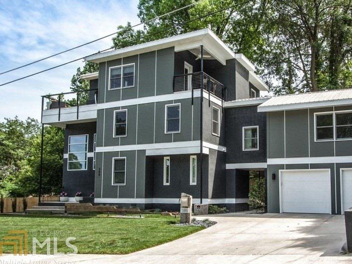 Near Georgia Tech Home Park Modern Offers Plenty For 825K