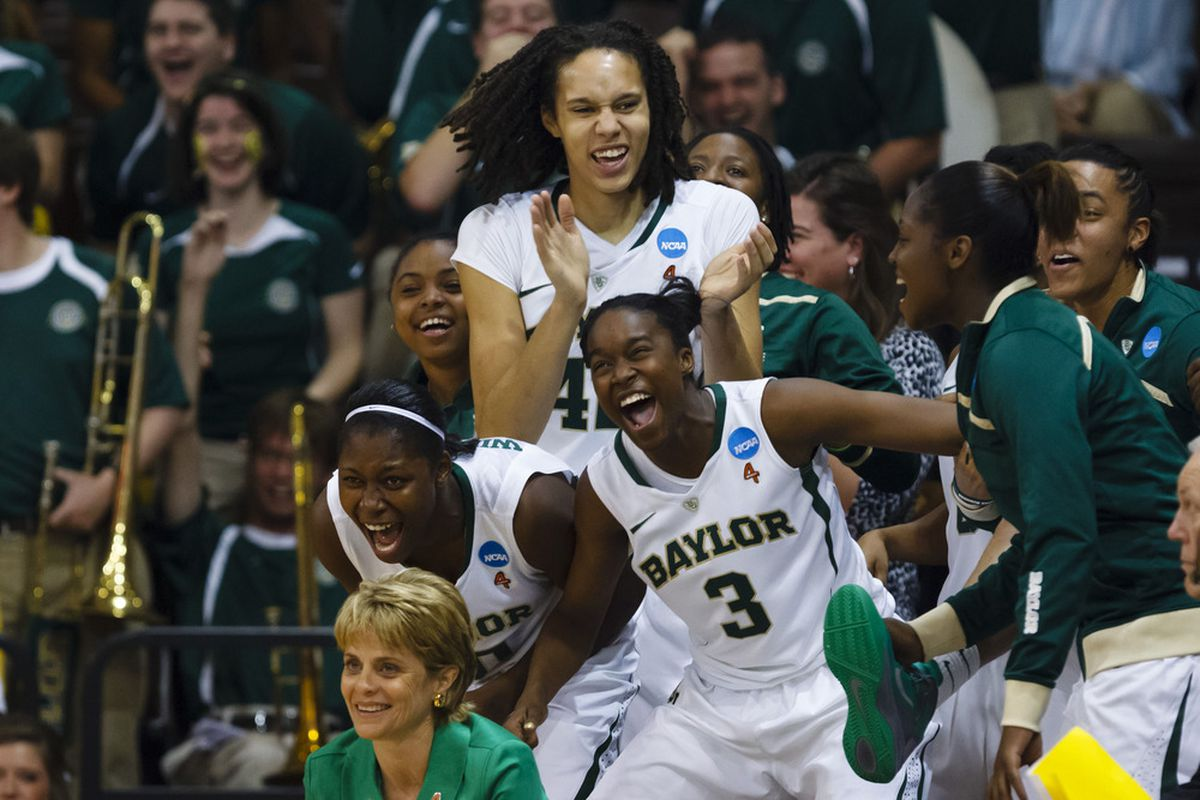 Brittney Griner and Kim Mulkey earn top accolades for leading the Baylor Lady Bears to an undefeated season thus far. <em>Rick Osentoski-US PRESSWIRE</em>