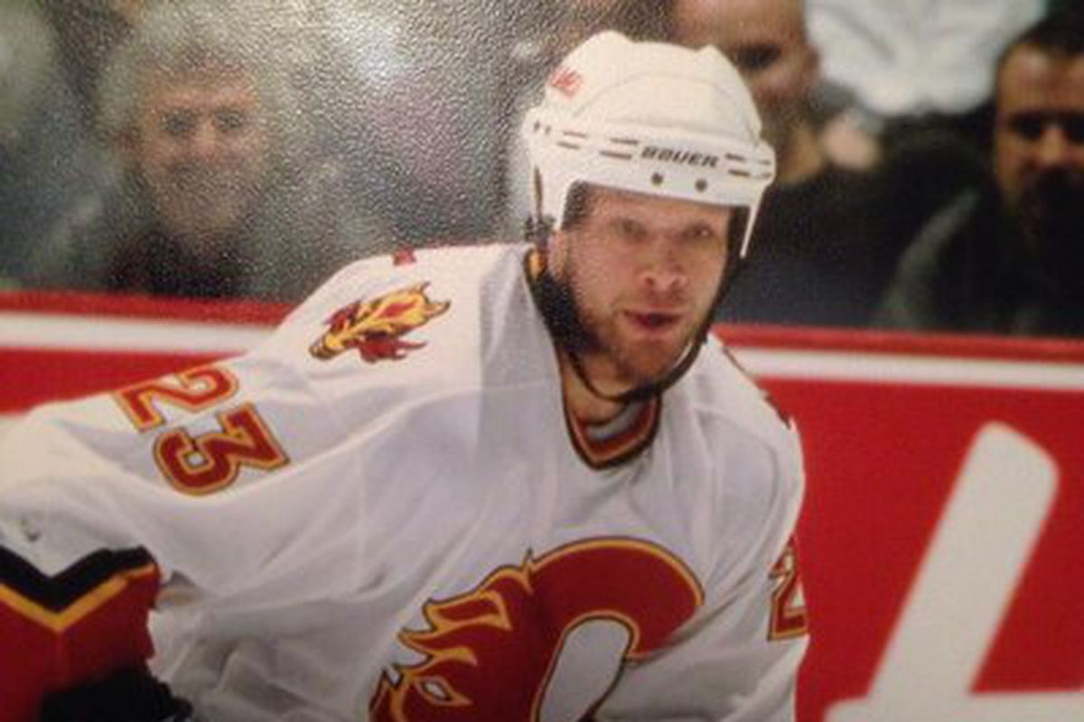 Clarke Wilm played in 303 games for the Flames.