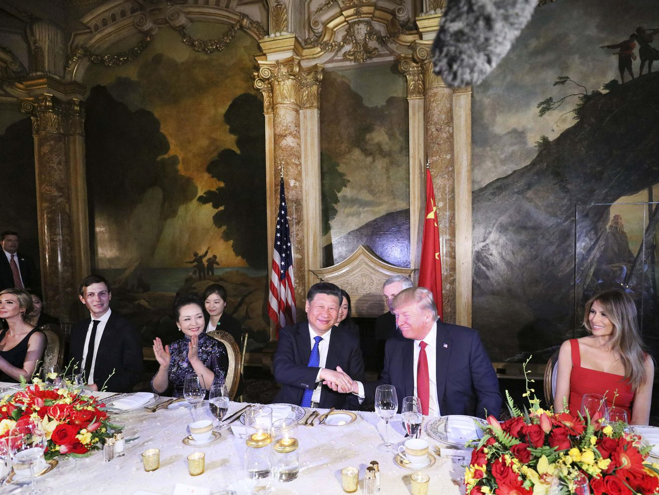 Foreign guest workers likely prepared Trump's banquet for Chinese President Xi Jinping at Mar-a-Lago in April 2017.