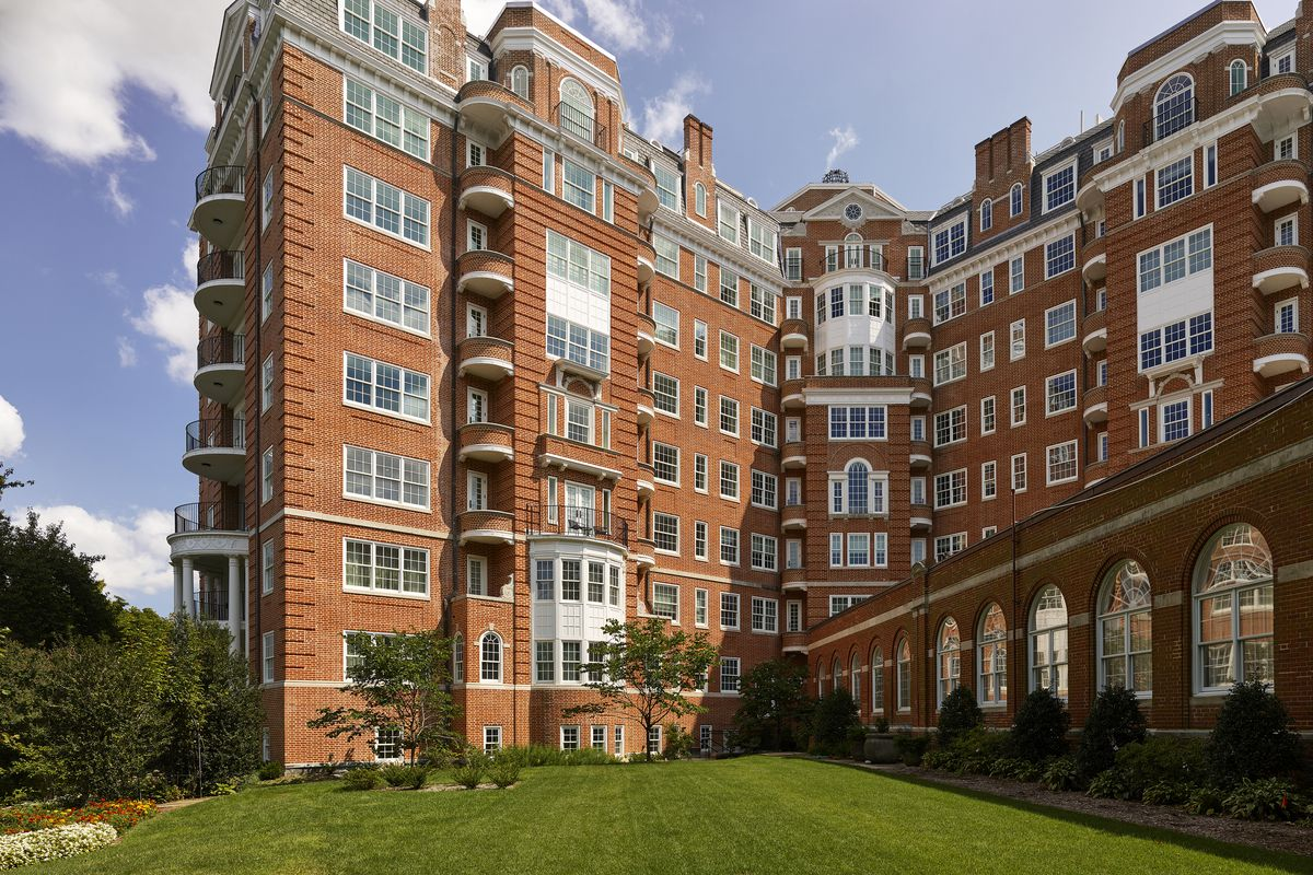 Woodley Park S Historic Wardman Tower Completes Two Year
