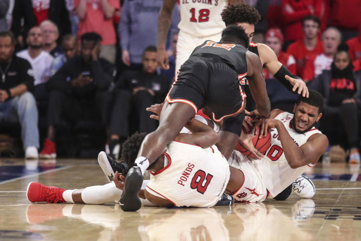 st. john's scraps together win over princeton, 89-74 - rumble in the