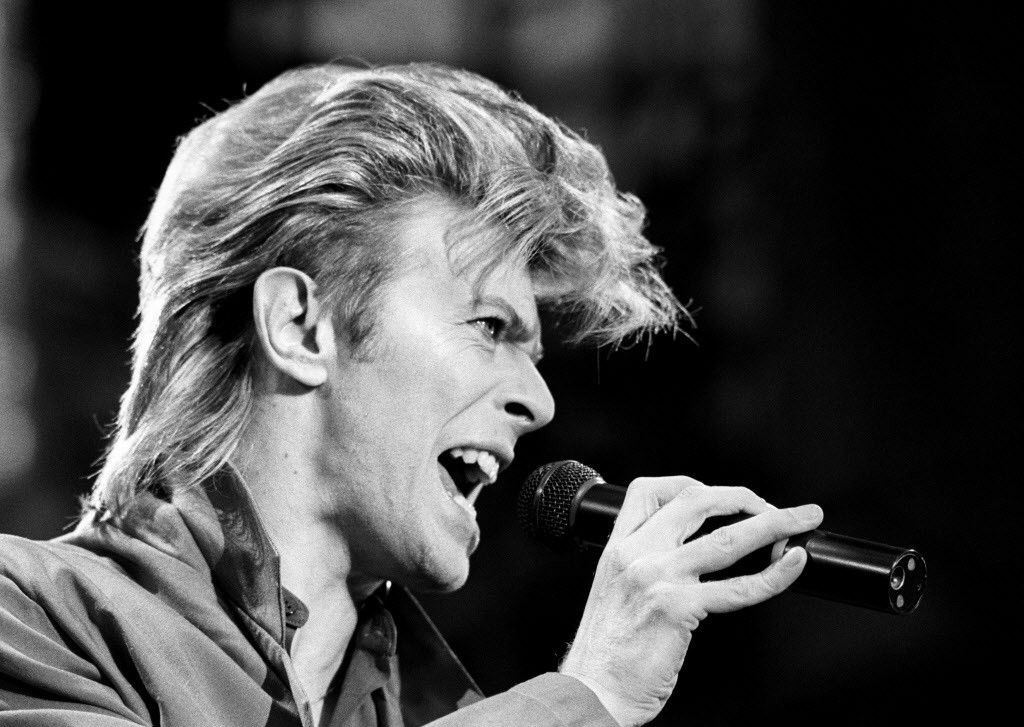David Bowie, pictured in 1987.   File Photo
