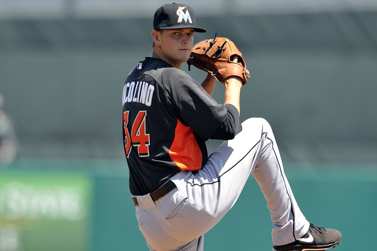 Pitching prospect Justin Nicolino