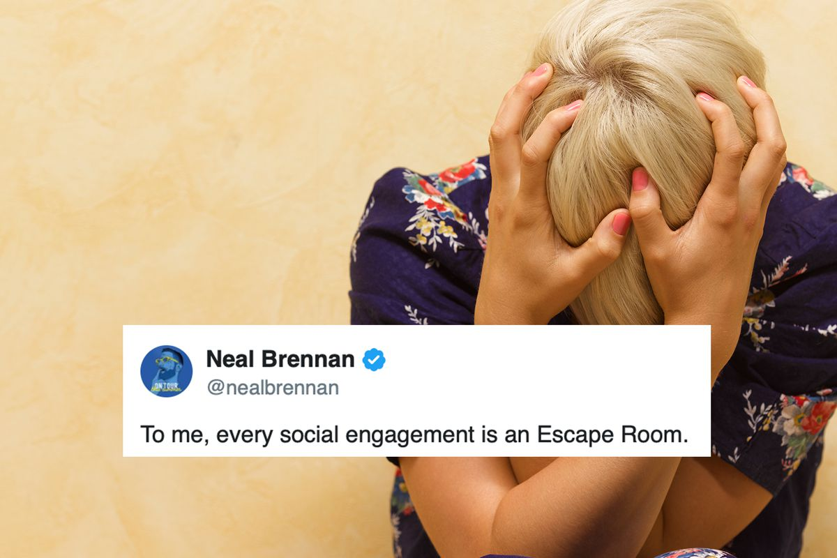 The Funniest Tweets About Social Anxiety
