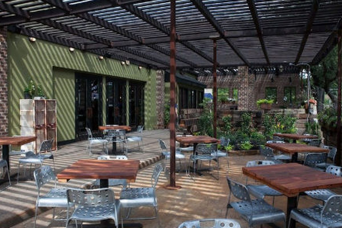 The patio at Acme F&B.
