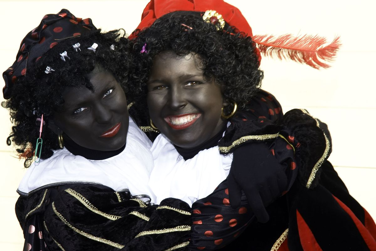 Wearing Blackface Is A Big Part Of Dutch Christmas Vox