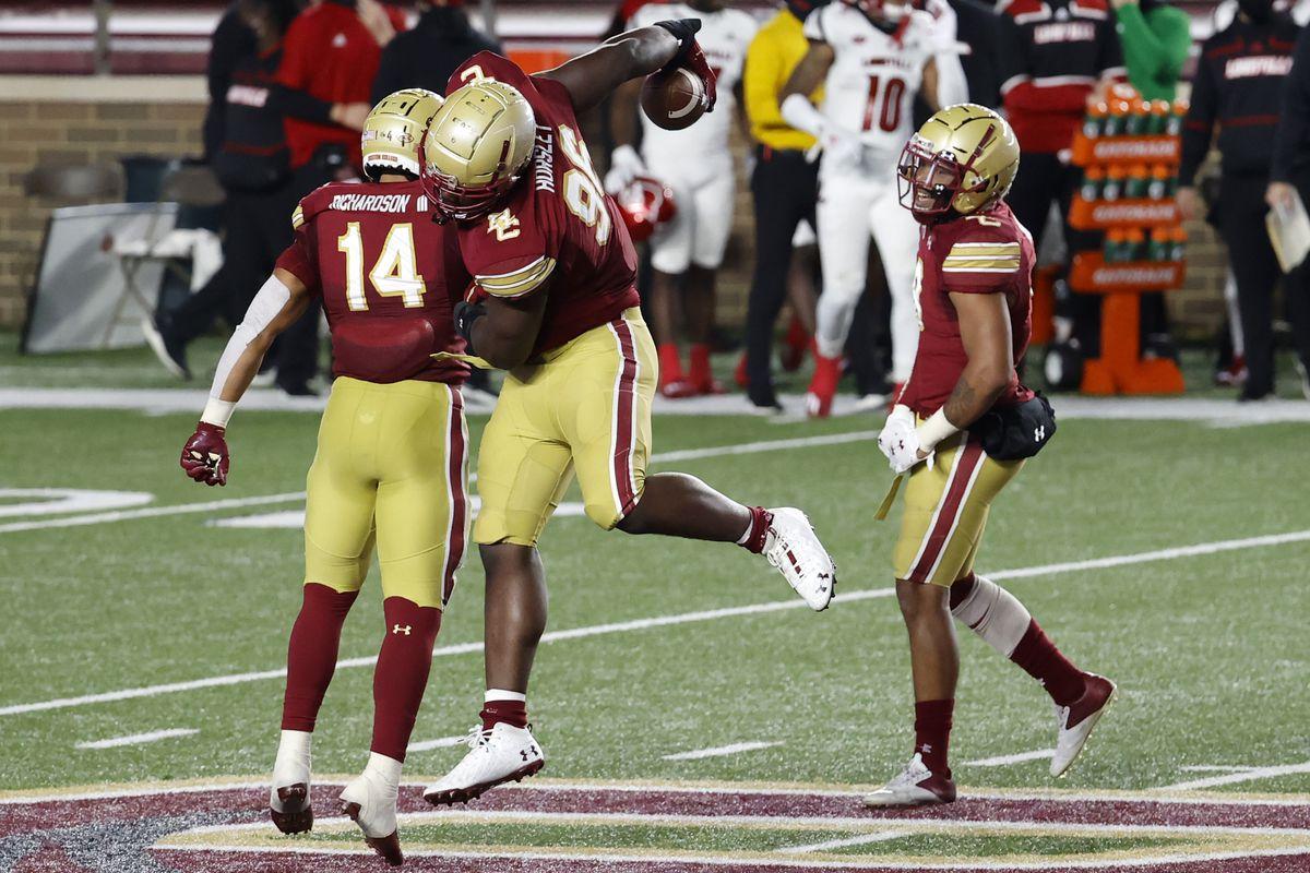 COLLEGE FOOTBALL: NOV 28 Louisville at Boston College