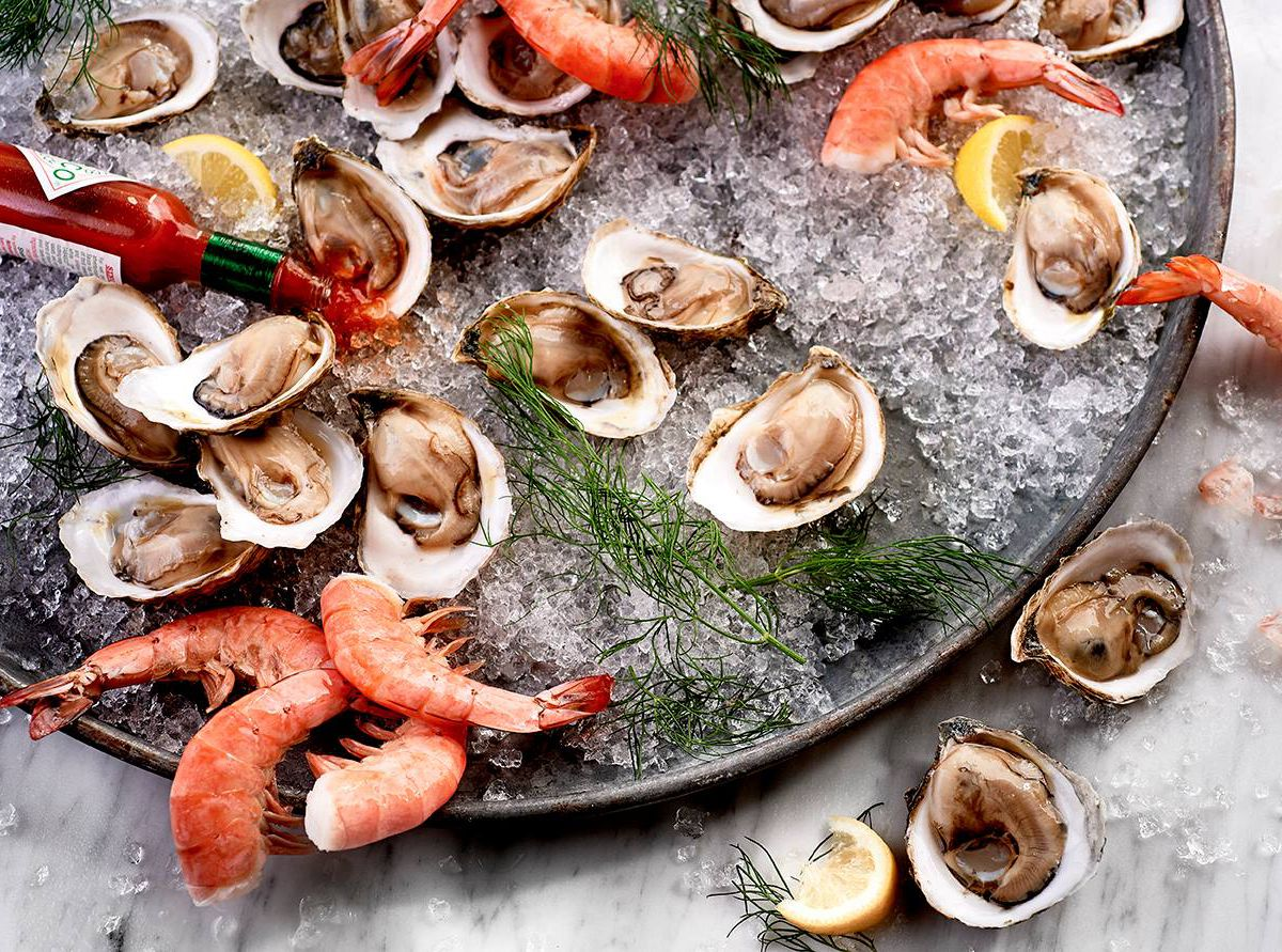 $1 oysters and shrimp, a bonus happy hour deal on Wednesdays at McCormick & Schmick's