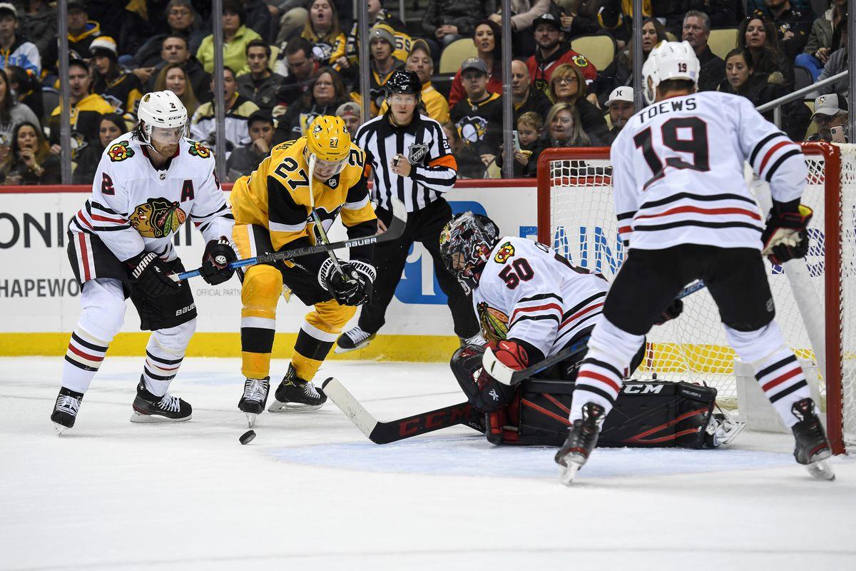 NHL: NOV 09 Blackhawks at Penguins