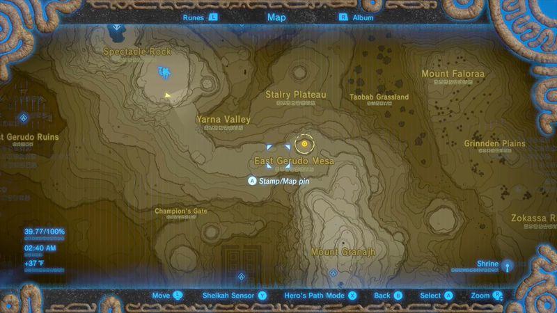 Zelda Breath Of The Wild Champions Ballad Guide Kihiro Moh Shrine