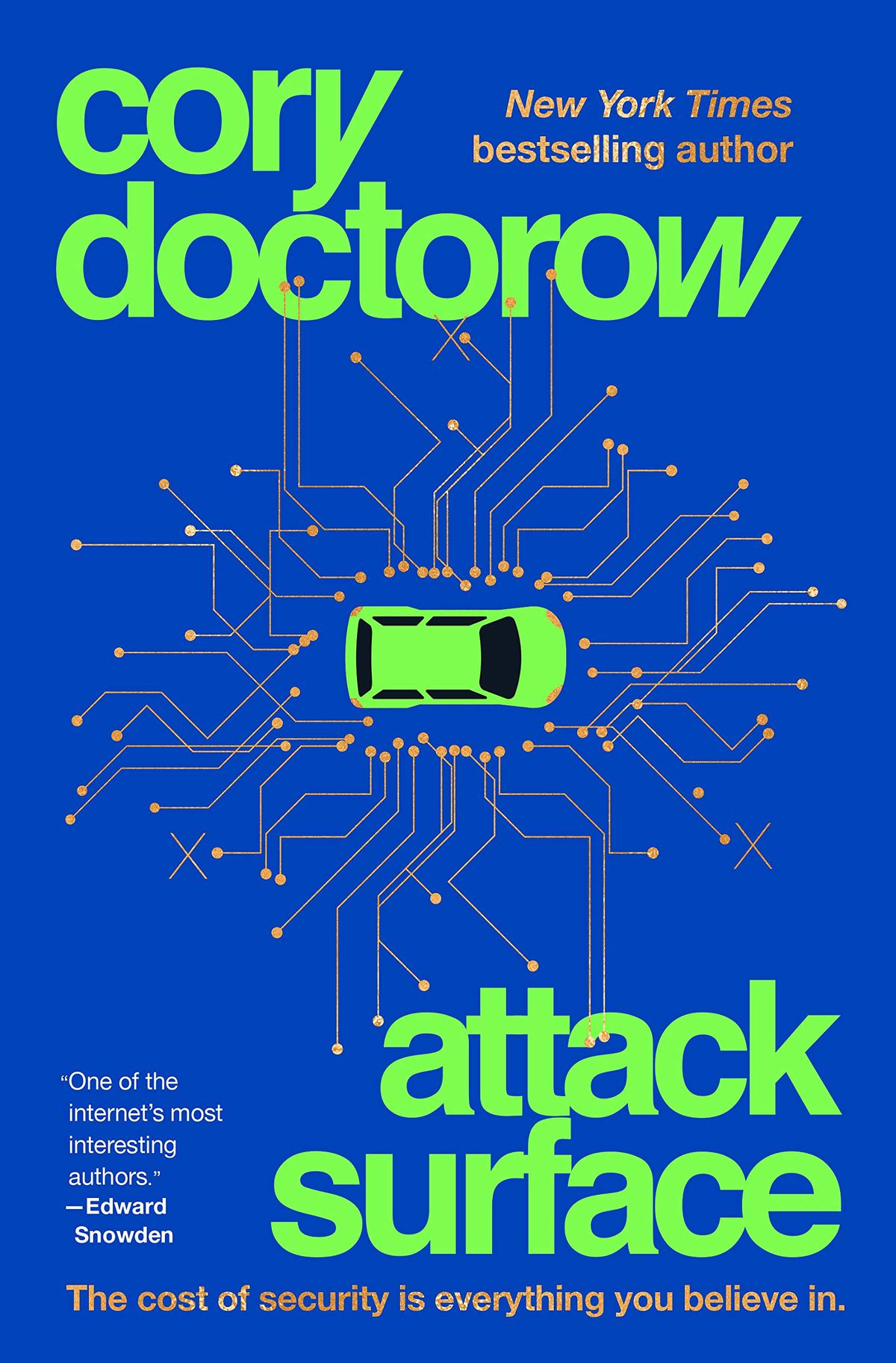 The cover of Cory Doctorow's novel Attack Surface