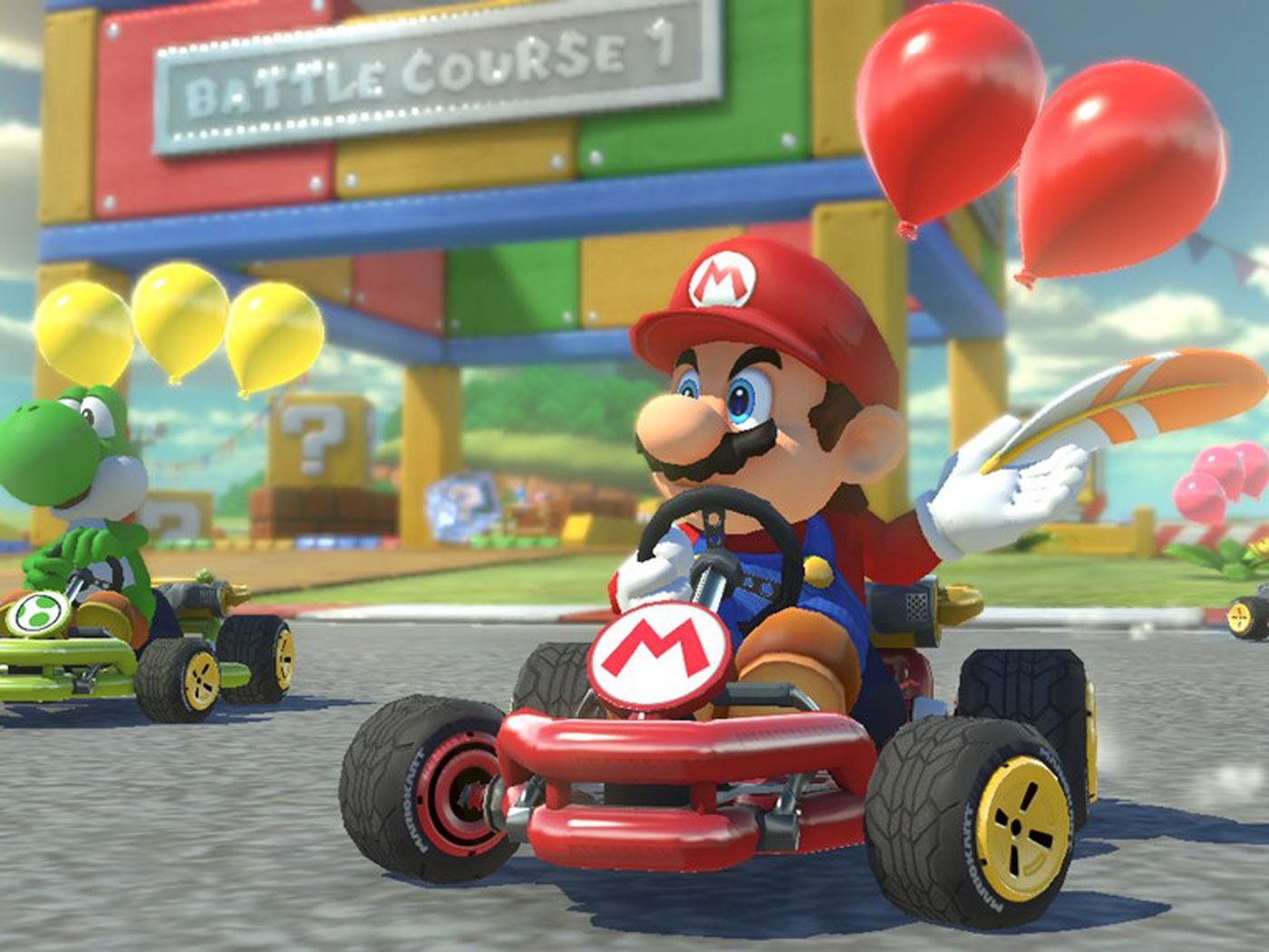 The 7 Best Things About Mario Kart 8 Deluxe The Verge
