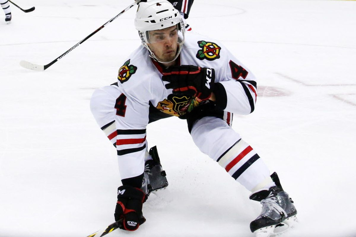 super popular fe329 8bc38 Niklas Hjalmarsson on leaving Blackhawks: 'Pretty weird ...