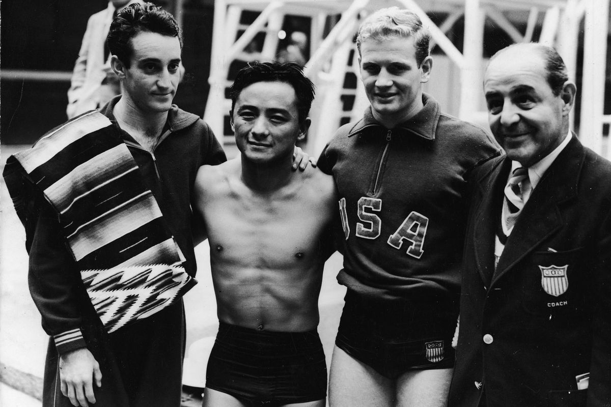 1948 Olympic Diving Champions