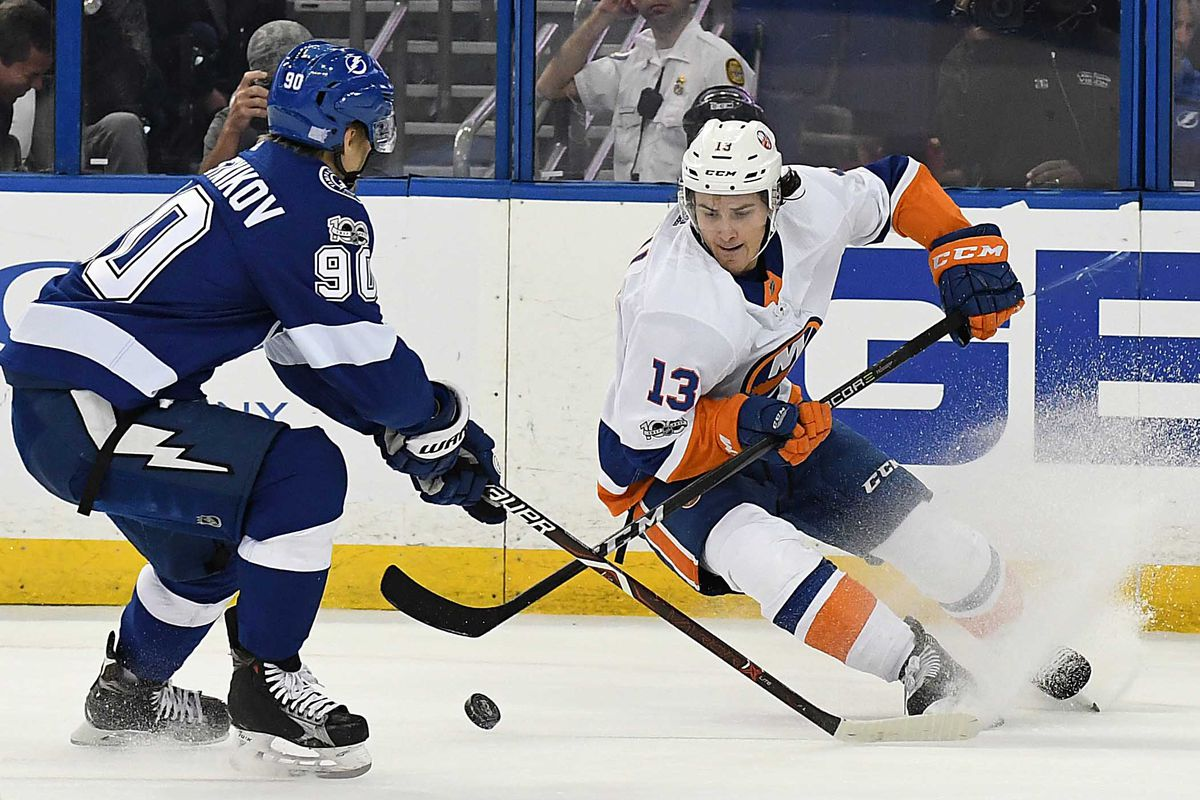 new york islanders at tampa bay lightning game 27 lighthouse hockey