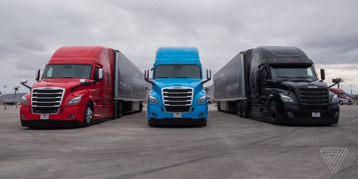 Daimler is beating Tesla to making semi-autonomous big rigs - The Verge