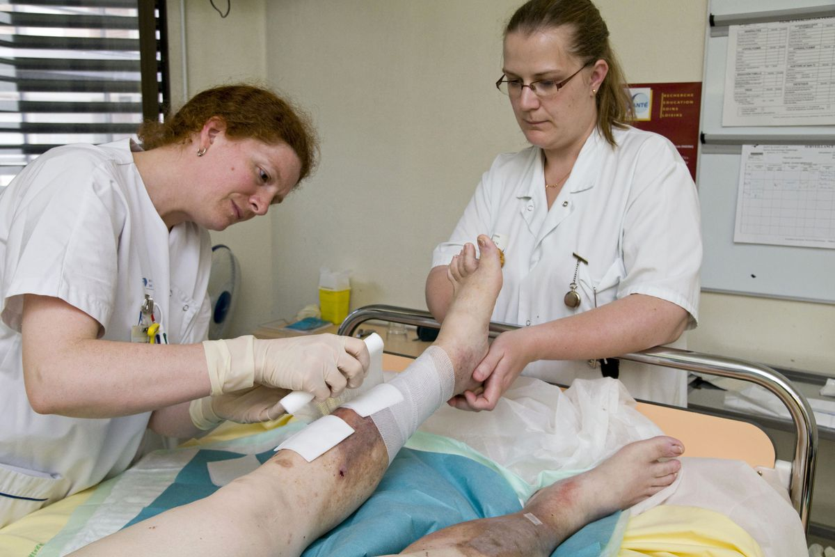 Leg Ulcers Care