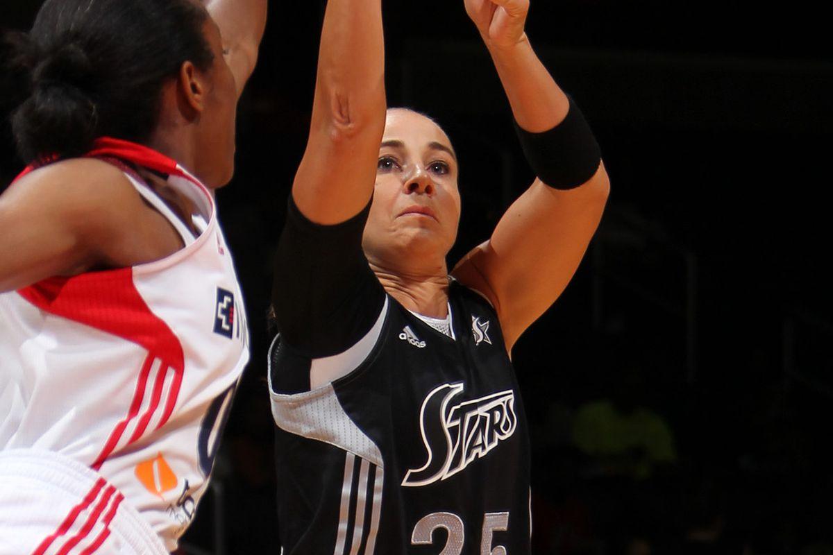 San Antonio Silver Stars v Washington Mystics