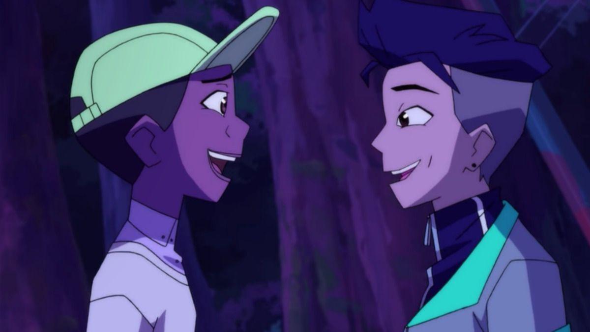 Benson and troy flirting