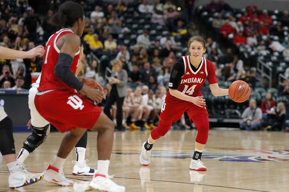 COLLEGE BASKETBALL: MAR 08 Big Ten Conference Women's Tournament - Indiana v Iowa