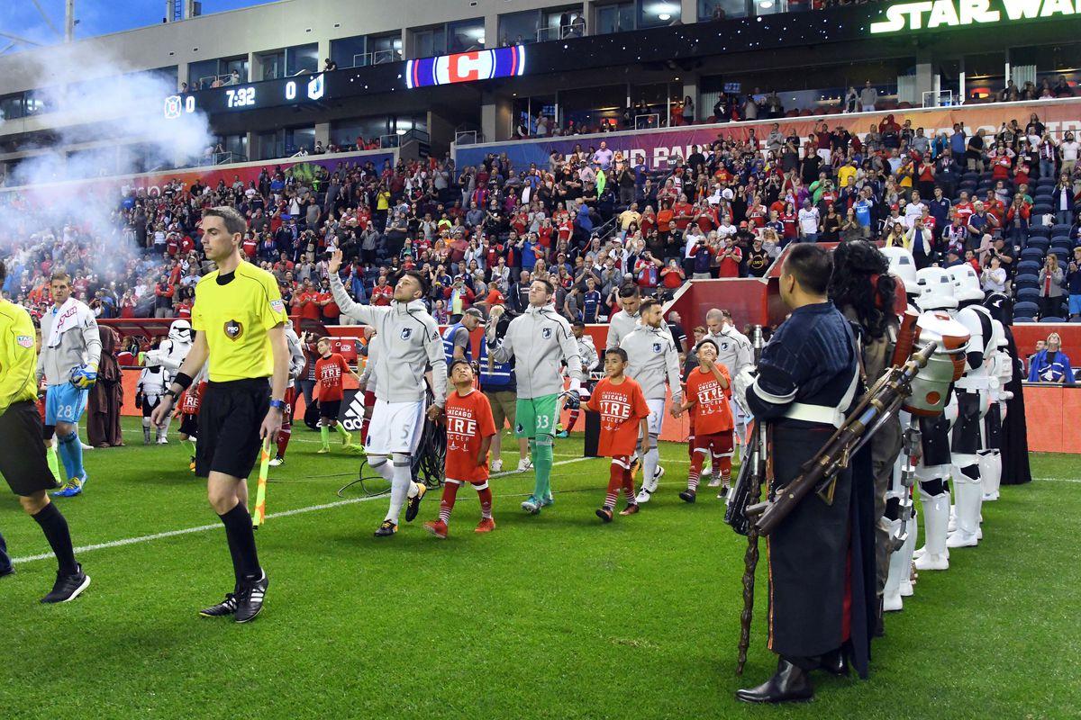 MLS: Minnesota United FC at Chicago Fire