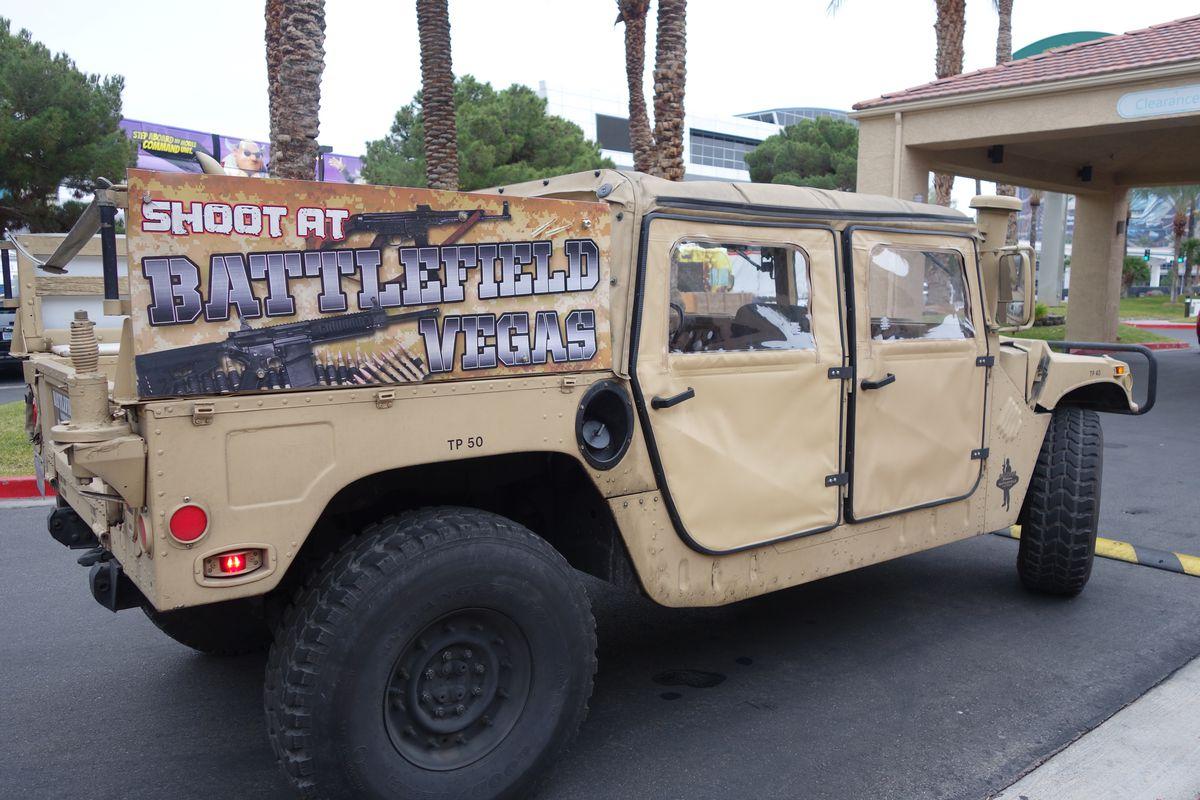 A Battlefield Vegas Humvee