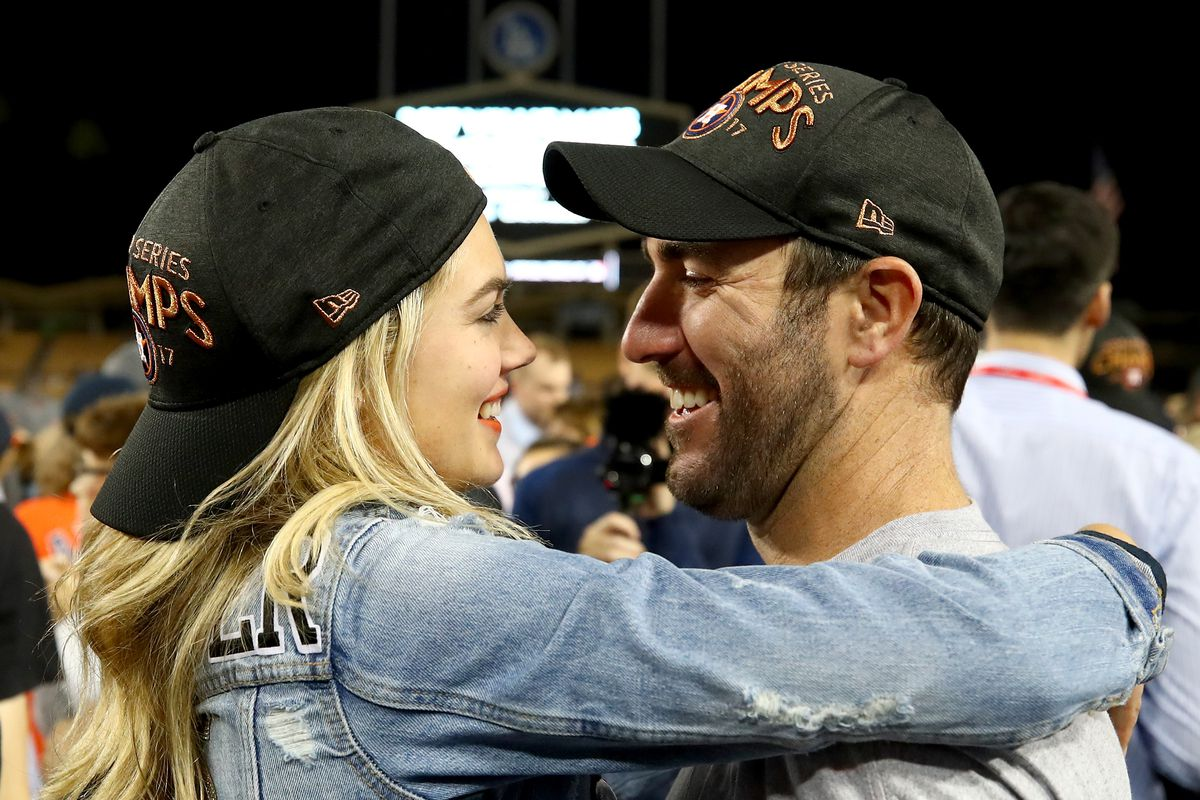 best sneakers 904ac 1eff2 Justin Verlander misses Astros World Series parade for his ...