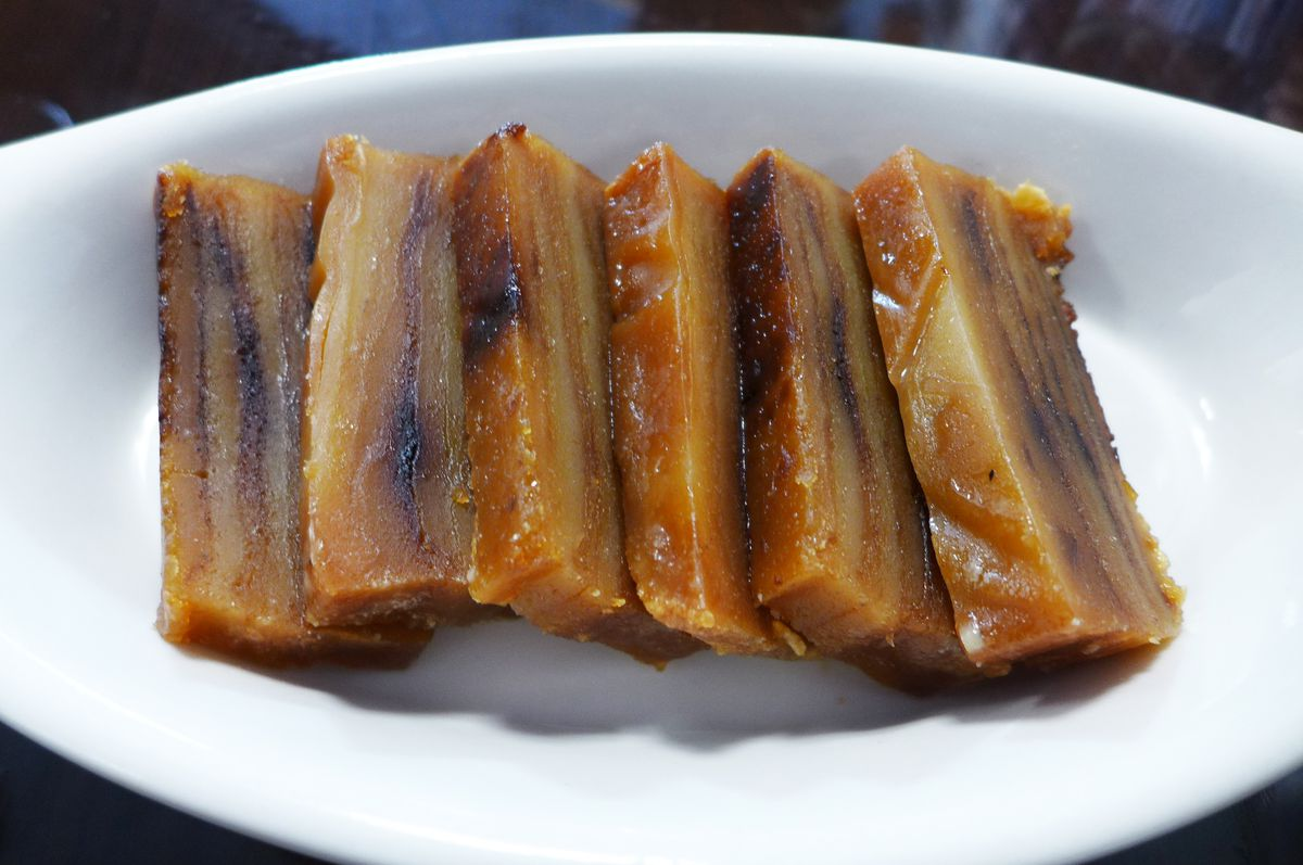 Babinca is a rich dessert sometimes available.