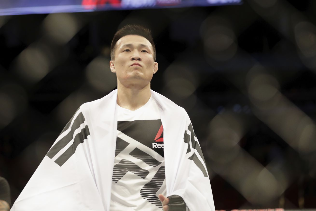 Korean Zombie vs. Lamas and Barao vs. Sterling added to UFC 214