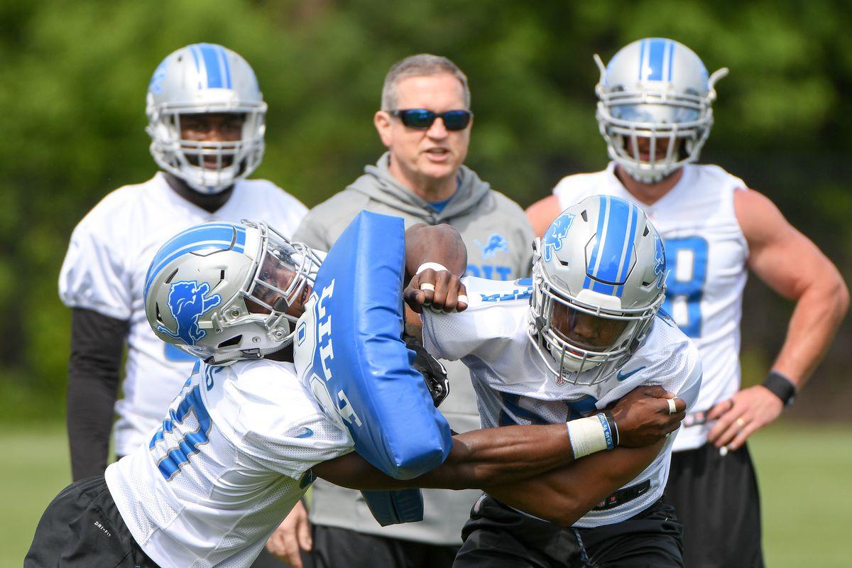 NFL: MAY 31 Lions OTA