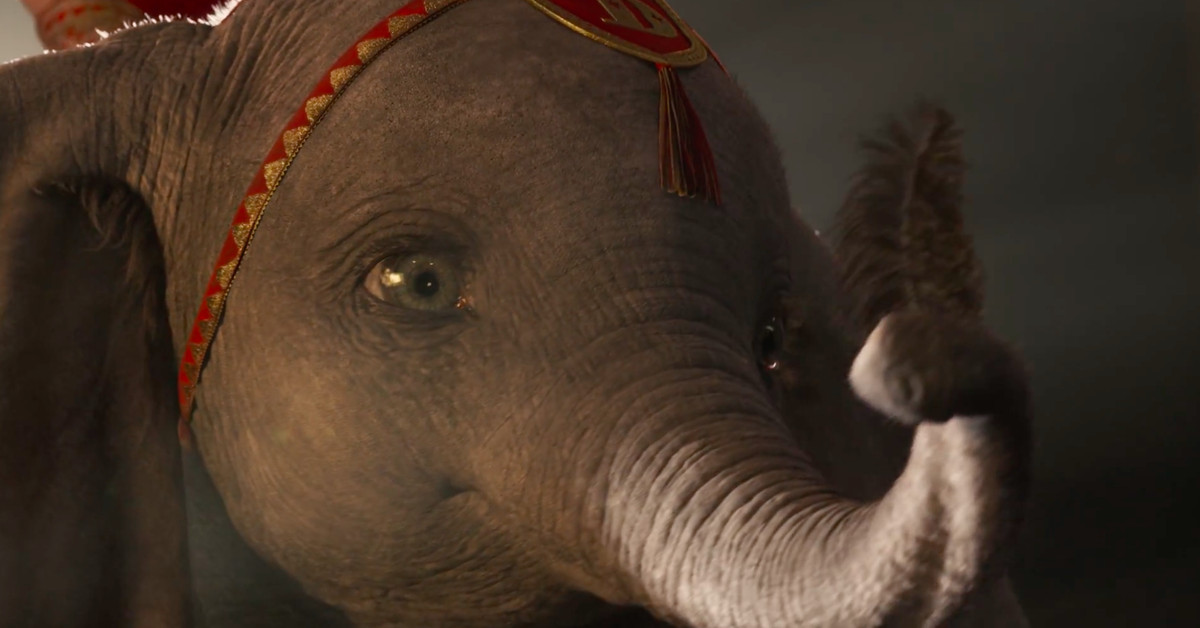 The new trailer for Tim Burton's live-action Dumbo is just heartbreaking