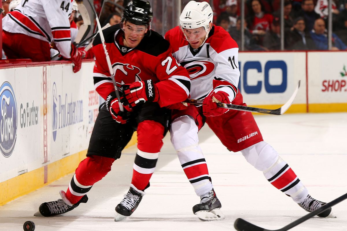 Gelinas! Staal! They play each other again...tonight!