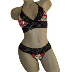 "<a href=""https://www.etsy.com/listing/202124485/sexy-san-francisco-49ers-nfl-lingerie?ref=unav_listing-same""> Lingerie set</a>, $36.50."