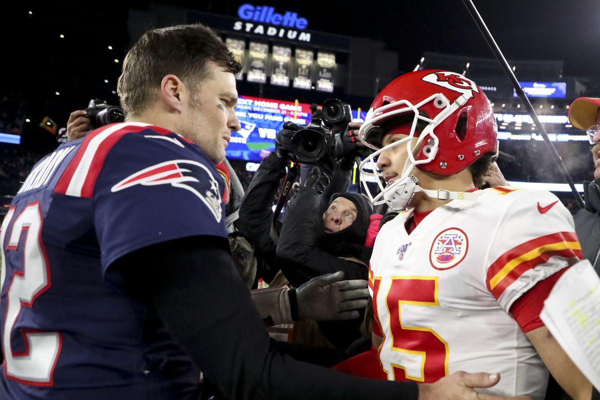 Kansas City Chiefs Vs. New England Patriots At Gillette Stadium